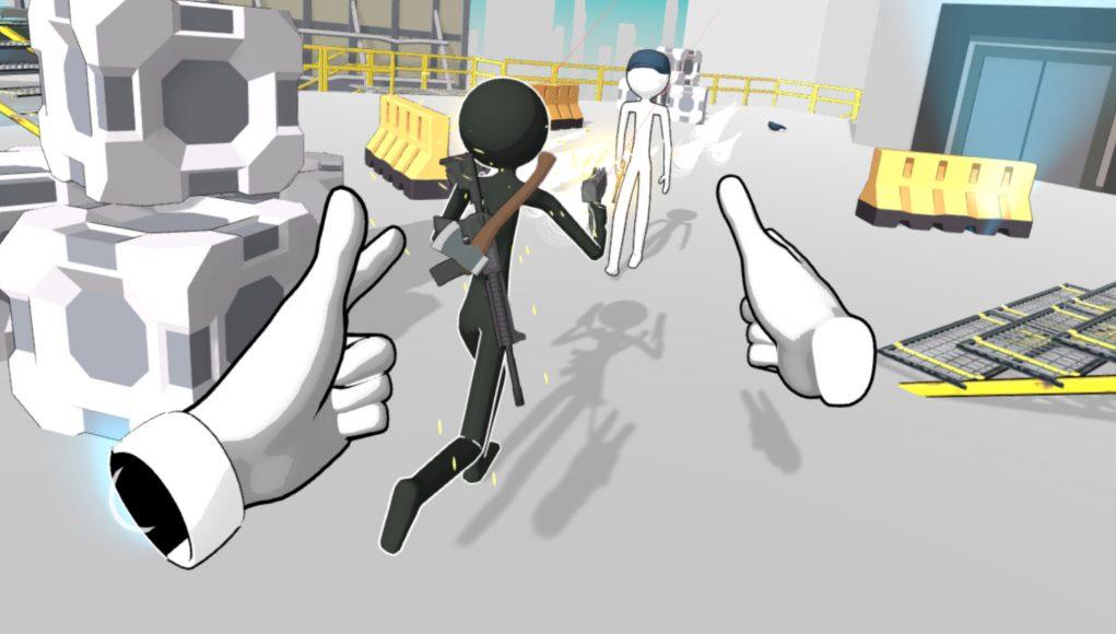 Holoception — гибридная физическая игра от 1/3-го лица
